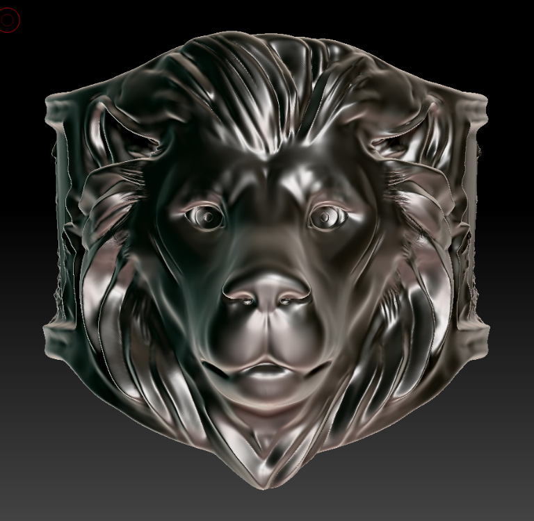 Lion Ring-front-sml