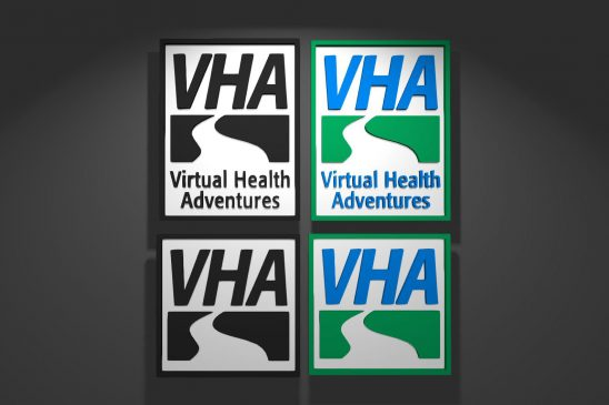 Virtual Health Adventures – Program Logo development