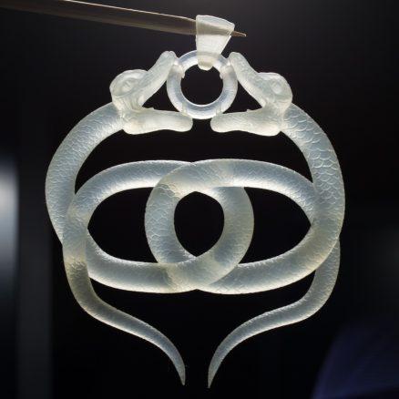 Double Snake Amulet