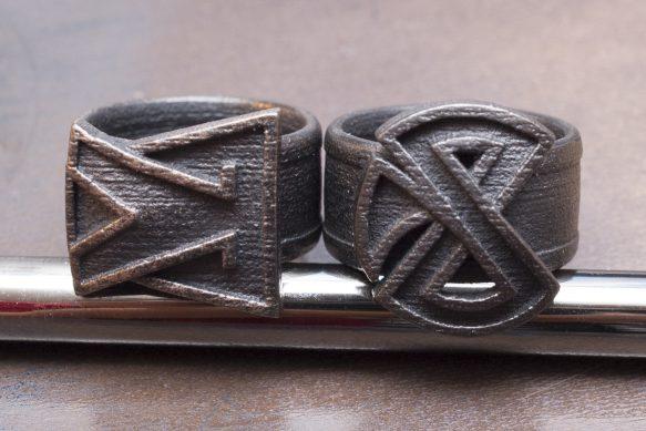 Diablo 3 – Focus & Restraint rings – sintered bronze/steel