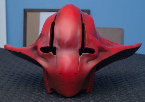 Star Wars – Captain Ithano helmet – EVA, Worbla, Bondo, acrylic paint.
