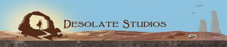 Desolate Studio logo & Site UI design